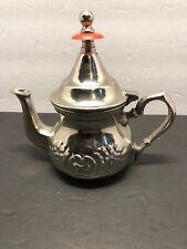 Fatima Silver Metal Teapot