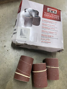 Jet Sand Paper 60-2180 Ready-To-Wrap Abrasives, 180 grit, 3-wraps in Box for 22-