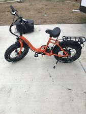Green Bike USA LOW STEP Fat Tire Folding Electric Bicycle