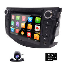 For Toyota RAV4 2006 2007 2008 2009 2010 2011 Car Radio DVD Player GPS Navi +Map