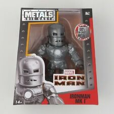 NEW! Jada Toys 4 Inch Metals Die Cast. IRON MAN MK1