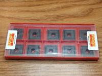 NEW SEALED PACK 10ct SANDVICK 880-09 06 W10H-P-LM GRADE:4024 CARBIDE INSERTS