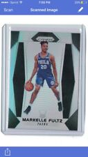 2017-18 Prizm Markelle Fultz Silver Prizm Philadelphia 76ers Washington Huskies