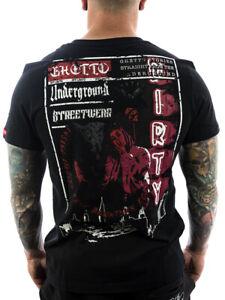 Ghetto off Limits Vendetta Underground 190309 schwarz T Shirt Männer T Shirt XL