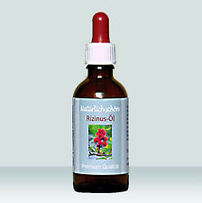 Rizinusöl nativ, 50 ml, Kosmetikum für die Wimpernpflege in Pharmaqualität