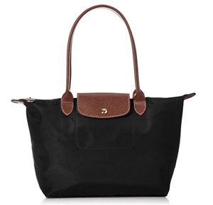 NEW Longchamp Le Pliage  Nylon Tote Bag Large Black