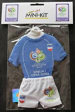 Fußball MINIATURE TRIKOT WM WC 2006 SERBIEN MONTENEGRO SRBIJA I CRNA GORA
