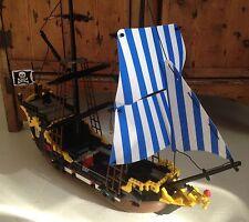 Blu Nuovo di Zecca & VELE BIANCHE * * per adattarsi LEGO Nave Pirata Caraibi Clipper 6274