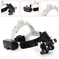 5w Dental 35x 420 Loupes Binocular Headband Medical Magnifier Led Head Light