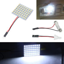 48 SMD COB LED T10 4W White Light Car Interior Panel Lights Dome Lamp Bulb