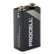 1 x Duracell 9V PROCELL Industrial Battery MN1604 6LR61 PP3 block 6LF22