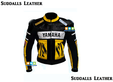 Yamaha Motorcycle Leather Jacket Men Women High Quality CE Approved Protectors