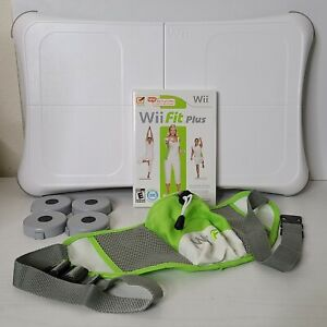 """Nintendo Wii Fit Plus w Balance Board Hip Pouch 26"""" To 45"""" Fanny Pack"""