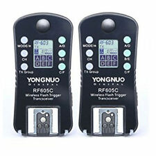 YongNuo RF605C RF605 Wireless Flash Trigger Set with LCD for Canon