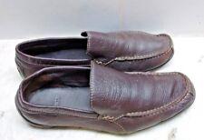 Lacoste Argon Lexi 2 Slip-On Loafer Dark Brown Driving Moccasins Men 10M