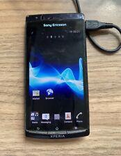 Sony Ericsson Xperia Arc S LT18i Unlocked Black Smartphone