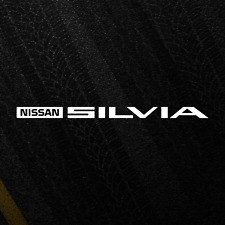 Nissan Silvia Decal Sticker Emblem JDM Drift Japan S13 S14 S15