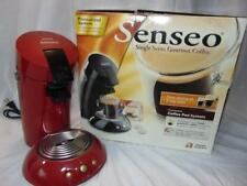 PHILIPS SENSEO Coffee Maker MACHINE HD7810 Single-Serving  RED/BLACK