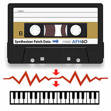Oberheim OB-8 Data Cassette Tape - Contains Patches/Sounds for OB8