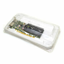 Nvidia Quadro FX380 Low Profile Graphics Card DVI, Displayport w/ Adapters
