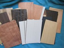"Assorted Mix 8"" by 5"" wood veneer"