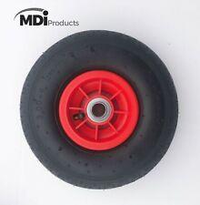 MDI Trolley Wheel - Wheel - Pneumatic 3.00-4 (260x85mm Tyre) Hole 20mm Diameter