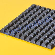 3M 100pc 13x6mm Sticker Square Keystone Feet Tube Amp Radio Pedal Effect Cabinet