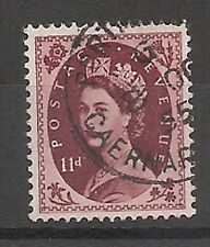 Pre-Decimal Royalty Used Great Britain Elizabeth II Stamps