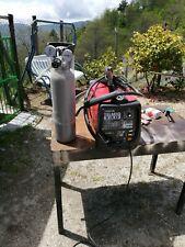 Saldatrice a filo continuo Telwin Telmig+bombola co2 e riduttore