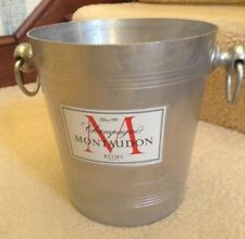 VINTAGE MONTAUDON CHAMPAGNE ICE BUCKET FRANCE COOLER WINE BAR CHRISTMAS PARTY