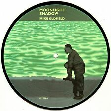 "MIKE OLDFIELD 'MOONLIGHT SHADOW' UK PICTURE DISC 7"" SINGLE"