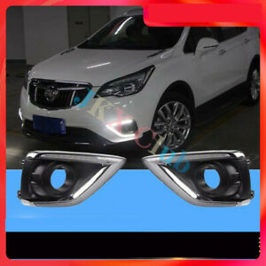 Fit For Buick Envision 2019-2020 o LH & RH LED Daytime Running Light Lamp DRL