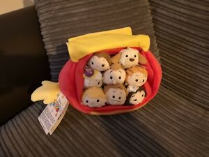 Disney Store Beauty and The Beast Tsum Tsum Set