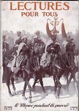 Lecture pour tous / Juin 1919 / Maroc pendant la guerre - Tunnel Sous Manche...