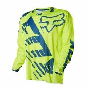 Men FOX Cycling Jersey Long Sleeve Downhill Shirt Release Mountain Bike MTB Top