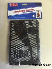 Nba Single Basketball Mesh Carrier w/ Carabiner Clips to Duffle Bag Backpack