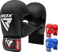 RDX Boxhandschuhe MMA Halb Muay Thai Kickboxen Taekwondo Handschuhe TKD DE