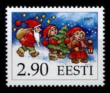 Weihnachten. Die Helfer des Weihnachtsmannes. 1W. Estland 1997