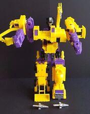 Vintage Original Hasbro Transformers G2 Constructicons Devastator 1992