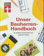 * Unser Bauherren-Handbuch * Haas Krisch Siepe* In 7 Schritten ins eigene Haus *