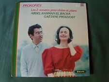 PROKOFIEV Sonates / ABDEL RAHMAN EL BACHA, GAETANE PROUVOST - LP FORLANE UM 6509