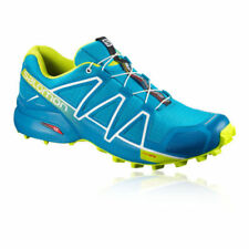 Scarpe sportive blu resistente all'acqua