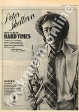 Peter Skellern Hard Times Hippodrome, Birmingham MM5 LP/Tour Advert 1975