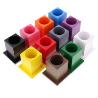 Jouet Montessori Matériel Beechwood pour Enfants - 11 Porte-conteneurs