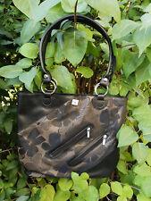 Schwarze Damenhandtasche - Shopper