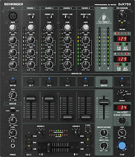 Behringer DJX750 PRO MIXER DJ 5 canali effetti digitali contatore bpm