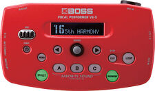 Boss VE-5 Vocal Performer Effects Processor Looper VE5 Red NEW