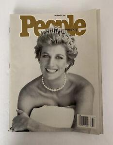 People Magazine Princess Diana Commemorative September 15 1997 9/15/97 Newsstand