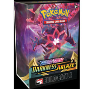 Pokemon TCG Sword & Shield Darkness Ablaze Build & Battle Box Prerelease Kit
