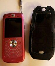 Vintage Motorola Mobile Phone With Case.